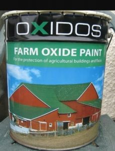 Shed Painting Oxides