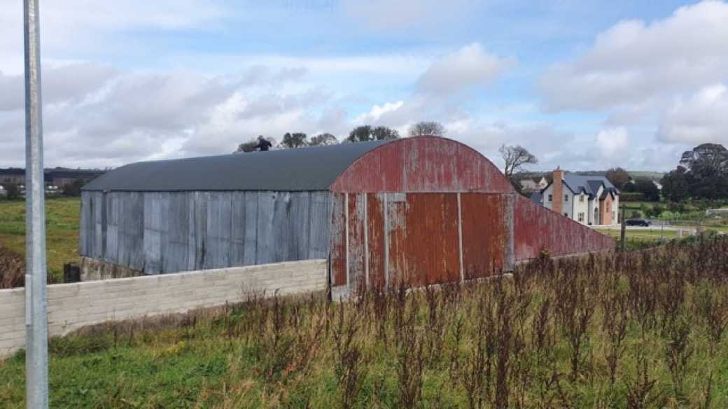 Exterior Shed Painting